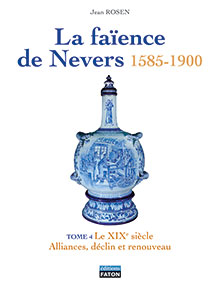 ENCYCLOPEDIE LA FAIENCE DE NEVERS 4 VOLUMES